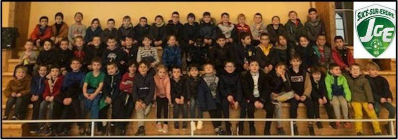 L'Ecole de Foot de la JGE débute l'année par un stage