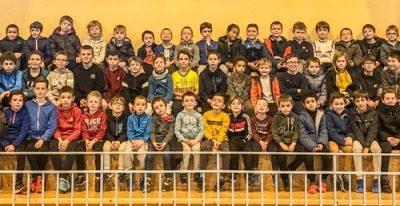 63 enfants au Stage JGE de fevrier