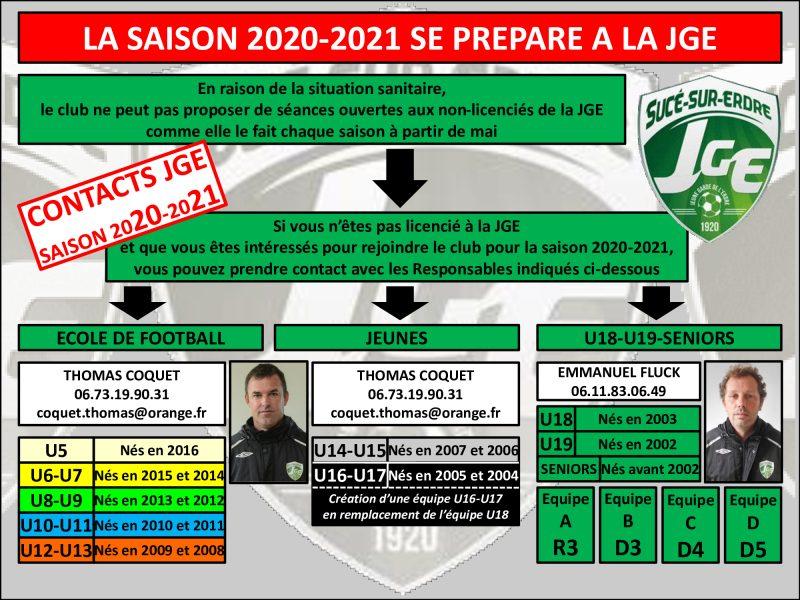 La JGE prépare la saison 2020-2021