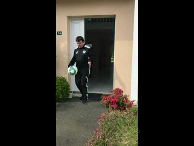 Défi JGE confinement : la JGE joue au foot à la maison – Vidéo