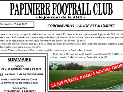 Retrouvez Le Papinière FC n°5