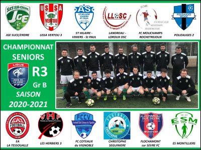 L'équipe 1ère sera dans le groupe B de R3