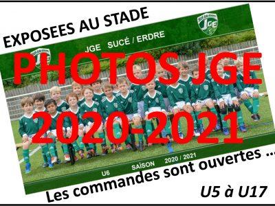 Les photos JGE 2020-2021 exposées au stade