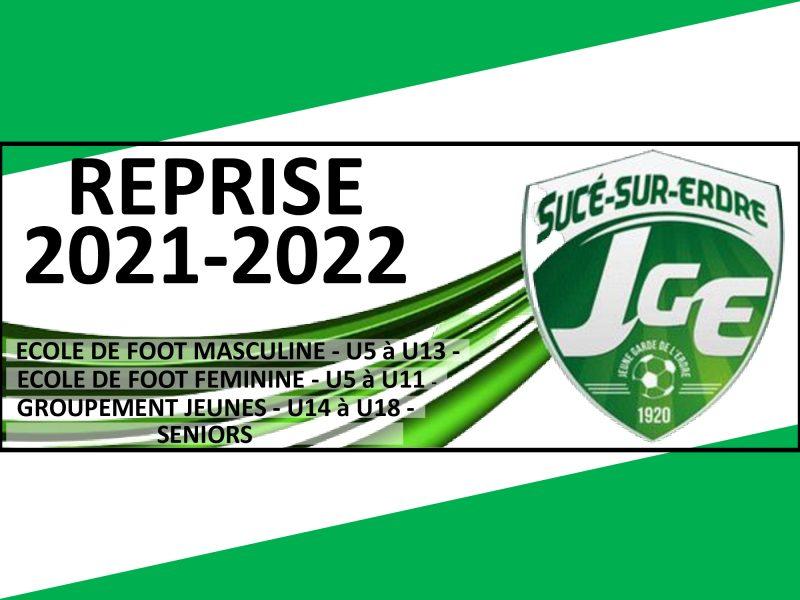 Reprise Saison 2021-2022