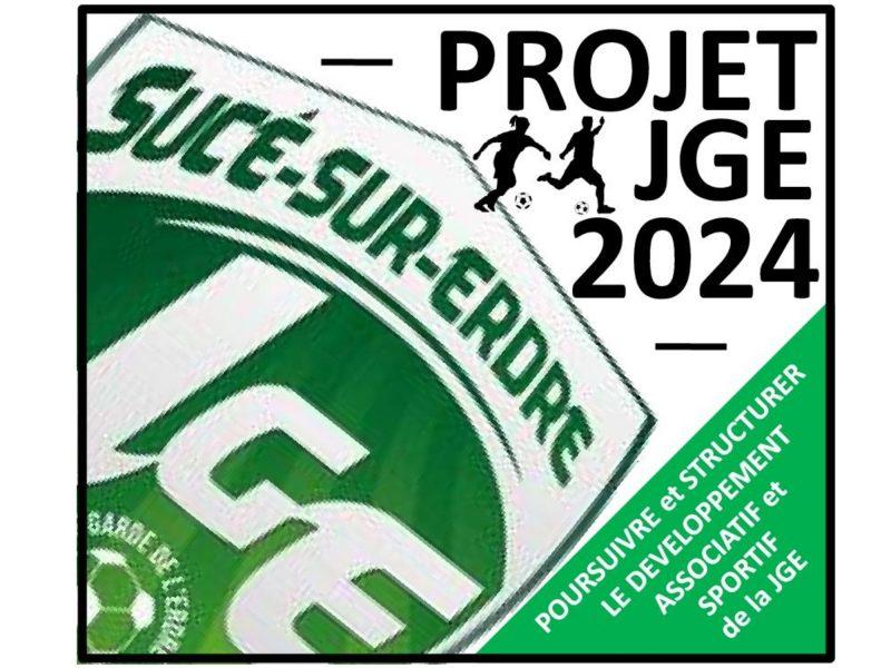 Le Projet JGE 2024 est lancé