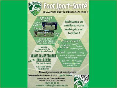 Séance découverte Foot Sport-Santé jeudi 16/09